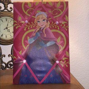 Frozen Memoboard: Anna